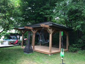 Pavillon jardin #1