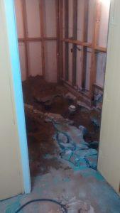 S-bain #1 travaux
