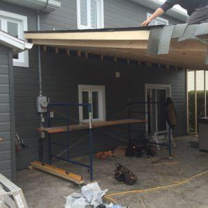 Salon extérieur #1 travaux