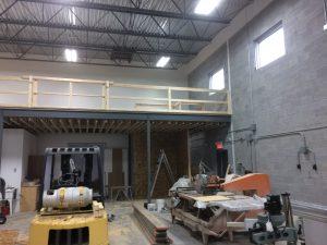 Mezzanine entrepôt #1