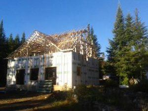 Construction chalet #1